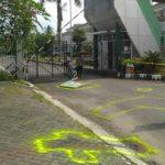 TKP pembunuhan dua orang keponakan di Lubuk Kilangan Padang.